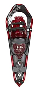 Crescent Moon, Gold 12 Race/Ruinning Snowshoes - Apple Red