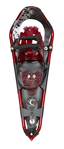 Crescent Moon Gold 12 Running/Fitness Snowshoe Rocking Red, One Size