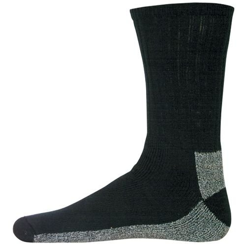 Fox Outdoor CBS-BLL Chukka Coolmax Boot Sock Black, Large
