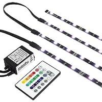 RGB TV HINTERGRUNDBELEUCHTUNG FÜR 42-60 ZOLL (107-152cm) - LED LEISTEN -...