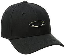 Oakley Men\'s Tincan Cap, Black/Graphic Camo, Large/X-Large