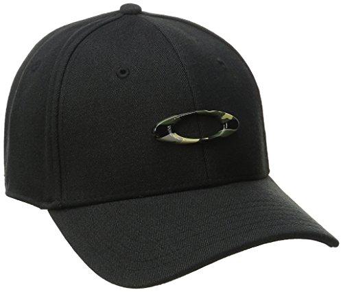 Oakley Mens Men's Tincan Cap, Black/Graphic CAMO, Small/Medium