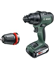 Bosch 06039B5170 AdvancedImpact 18 Cordless Combi Drill with 18 V Lithium-Ion Battery