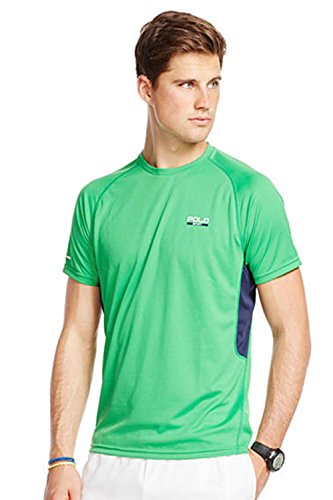 Polo Sport Men' s Micro-Dot Jersey Tee (X-Large, Green) -