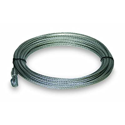 "KEEPER KTA14119 50' x 3/16"" Wire Rope for KT2500/KT3000 Winch: Automotive"