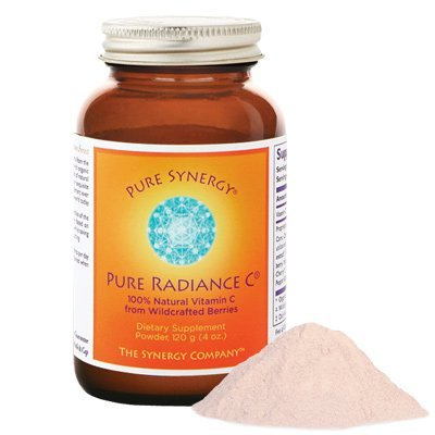 Pure Synergy Pure Radiance C 100% Natural Wholefood Vitamin C Powder 4oz by The Synergy Company