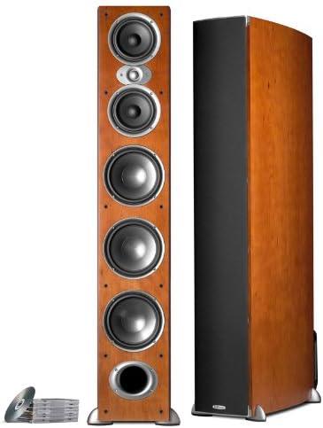 Polk Audio RTI A9 Floorstanding Speaker Single, Cherry