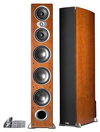 Polk Audio RTI A9 Floorstanding Speaker (Single, Cherry) Powersports AM9972-C 4