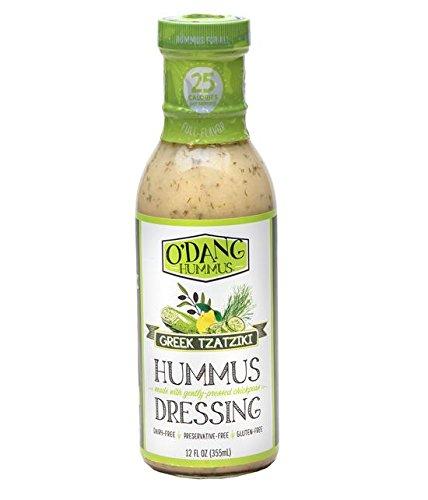 O'DANG Greek Tzatziki Hummus Dressing (2 PACK)