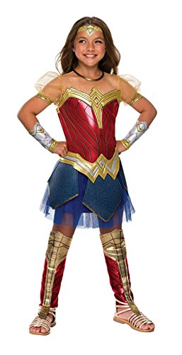Young Justice Wonder Girl Costume (Justice League Child's Wonder Woman Premium Costume, Medium)