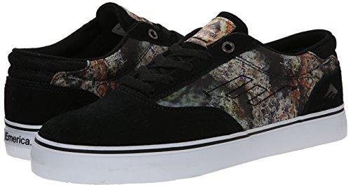 EMERICA Skate Shoes THE PROVOST Black/Print Bud Hunter