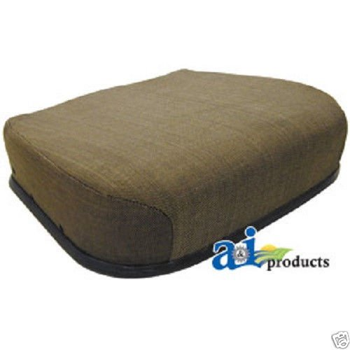 John Deere Personal Posture Brown Fabric Seat Cushion for 30, 40, 50 Series Cab Tractors w/Mechanical Suspensions #RH by A&I