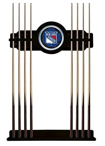 New York Rangers Cue Rack in Black Finish by Holland Bar Stool Co.