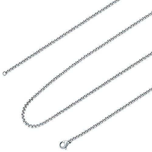 stainless steel 1mm chain - 1
