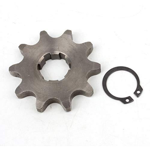(PRO CAKEN 530 10T Front Sprocket with Circlip for 20mm Counter Shaft Dirt Pit Bike ATV Go-kart)