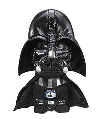 "Underground Toys Star Wars Plush - Stuffed Talking 9"" Darth Vader Character Plush Toy"