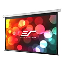 Elite Screens Spectrum, 84-inch 4:3, 4K Home Theater Electric Motorized Drop Down Projection Projector Screen, ELECTRIC84V