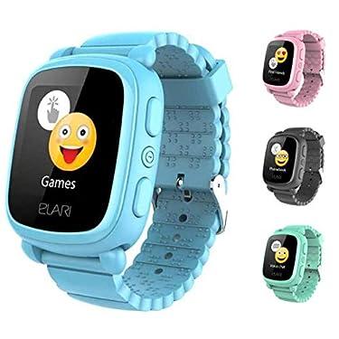 Elari-Smartwatch-para-ninos-con-Seguimiento-GPSGLONASSLBS-Pantalla-tactil-Brillante-y-Chat-de-Voz-KidPhone2-Azul