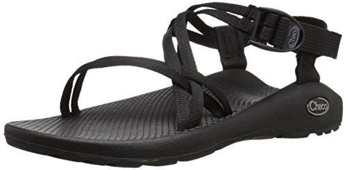 Chaco Women's ZX1 Classic Athletic Sandal, Black, 8 M - Look Black Buckle Wet New