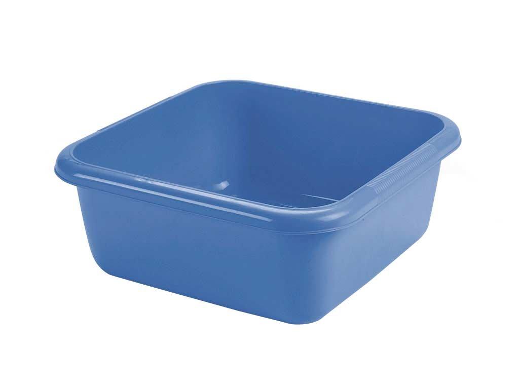 Maya Professional Tools 09087 Square Washing Up Bowl, 6 Litres, Blue 6Litres es biss MBYMX