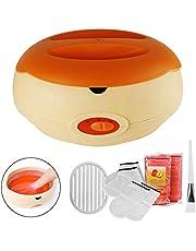 AYITOO Baños de Parafina Cera Baño, Calentador de Parafina para Manos y Pies con Máquina Accesorios, Alimenta la piel con Humedad Parafina Baño de Cera Máquina, Color Naranja