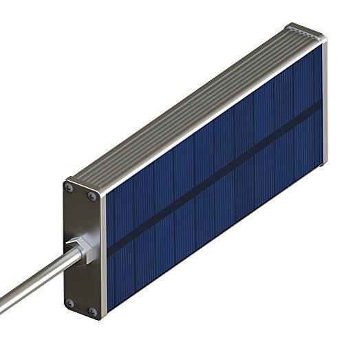 Aleación de aluminio LED Solar Lámparas Lámpara de la Calle, Patio, Camino Con Fulcrum, bar Microondas de luz/Radar...