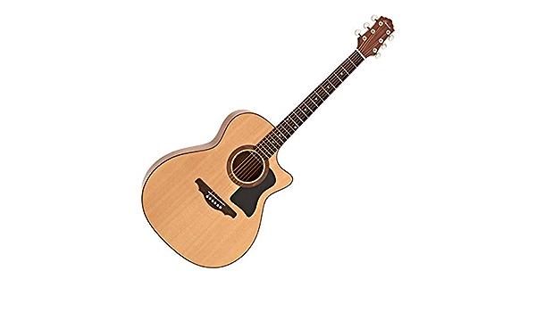 Guitarra Acústica de Doble Tapa Hartwood Libretto: Amazon.es ...