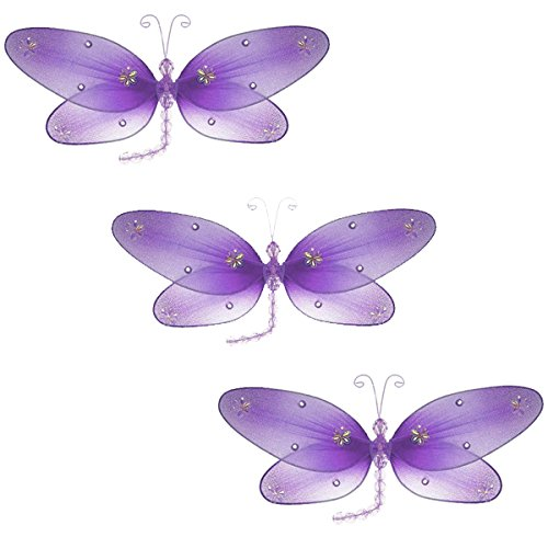 Taylor Dragonfly Decoration -pruple - small-5