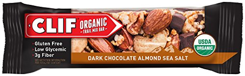 UPC 722252461421, CLIF Organic Trail Mix Bar, Dark Chocolate Almond & Sea Salt, (1.41 ounce, 12 Count) - Certified USDA Organic
