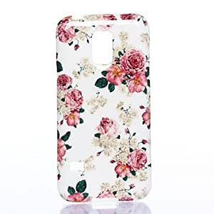 HJZ The Flowers All Over The Sky Pattern Silicone Soft Case for Sumsang Galaxy S5Mini
