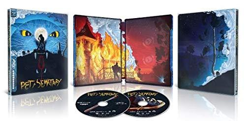 Pet Sematary Limited Edition Mondo SteelBook 4K Ultra HD Blu-ray + Blu-ray + Digital 1989]()
