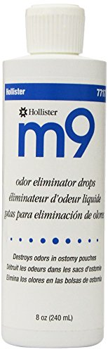 Deodorant Drops (Hollister M9 Odor Eliminator Drops, 7717 8 oz 1 bottle)