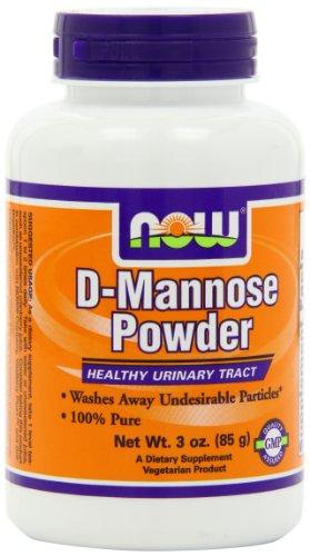 Now Foods D-mannose poudre, 3 onces