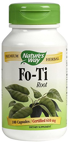 Fo Ti Root 100 Caps - Nature's Way Fo-Ti Root Caps, 100 ct