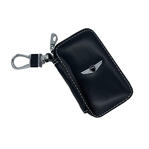 ffomo Leather Car Key Case Remote Control Package Auto Key Chains (fit -