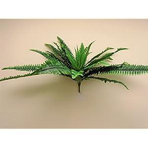 "Boston Fern Bush 29"" Leaves Artificial Silk Plant Greenery 30 - 5601GN 2"