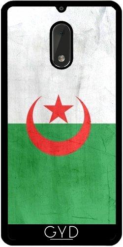 Funda de silicona para Nokia 6 - Bandera De Argelia by wamdesign