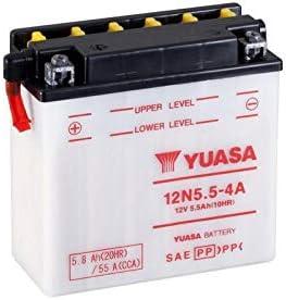 Batterie YUASA 12N5.5-4A conventionnelle