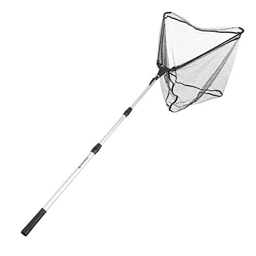 Fishing Net with Telescoping Handle- Collapsible and Adjustable Landing Net with Corrosion Resistant Handle and Carry Bag By Wakeman Outdoors (83