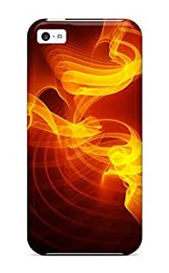 LJF phone case MaritzaKentDiaz Scratch-free Phone Case For ipod touch 5- Retail Packaging - Orange