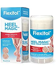 Flexitol Heel Magic - For Dry Skin or Rough Heels, Diabetic Friendly, Contains Shea Butter & Vitamin E - Protects and Softens Dry Heels, 70g