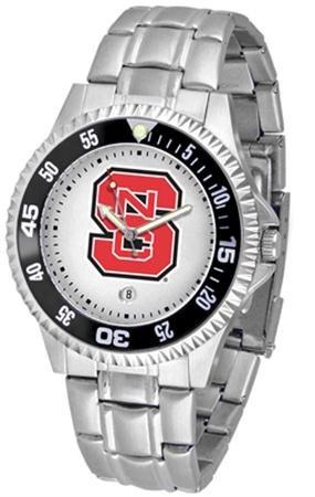 Linkswalker Mens North Carolina State Wolfpack Competitor Steel Watch