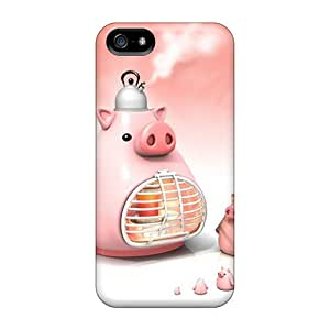 New Culinary Pigs Tpu Case Cover, Anti-scratch DsO4361GIFB Phone Case For Iphone 5/5s