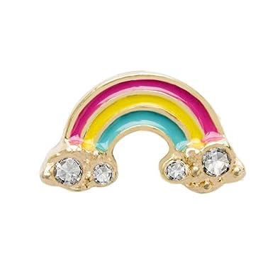 Amazon Origami Owl Trolls Rainbow Est Of Rainbows Charm Jewelry