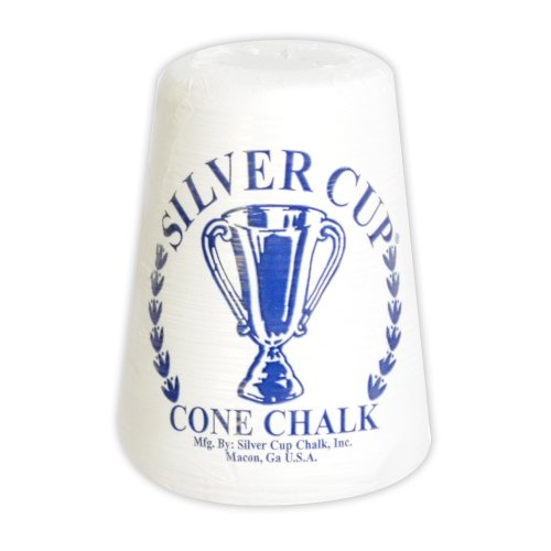 Silver Cup Hathaway Cone Talc Chalk, White ()