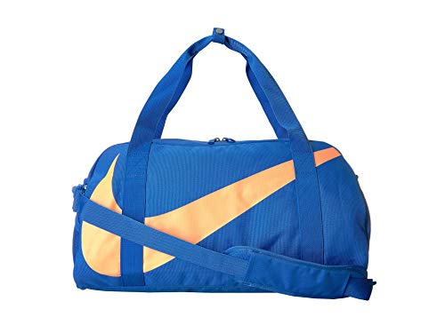 Nike Kids Gym Club Duffle (Black/Signal Blue/Orange)
