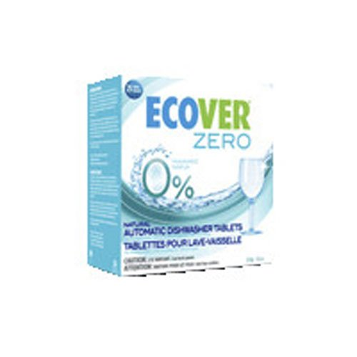Automatic Dishwashing Tablets Ecover (Ecover Zero Automatic Dishwasher Tablets, 17.6 OZ (Pack of 2))