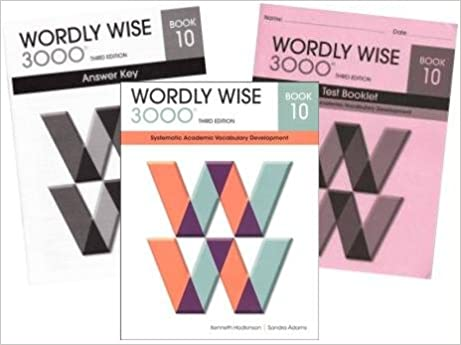 Wordly Wise 3000 Grade 10 SET Student Answer Key And