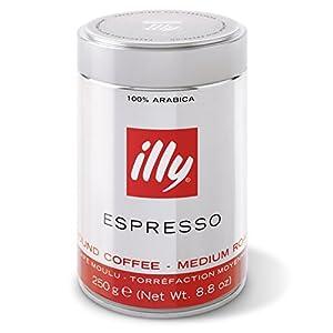 Illy Caffè Macinato Espresso Classico Gusto Morbido e Vellutato - 250 g