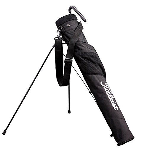 Titleist Adaptive Club Case Caddie Stand Bag, #AJSSB71, Black